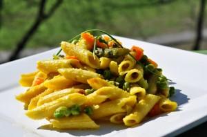 pasta al forno con besciamella di asparagi 2